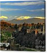 The Alhambra Palace Granada Spain Canvas Print