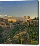 The Alhambra Palace Canvas Print