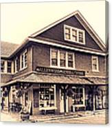 The Allenwood General Store Canvas Print
