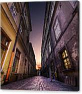 The Alley Of Cracov Canvas Print