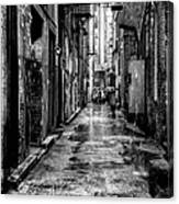 The Alleyway In Market Square - Knoxville Tennesse Canvas Print