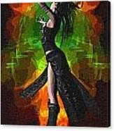 The Allure Of Night Fantasy Art Canvas Print