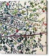 The Almond Tree Canvas Print