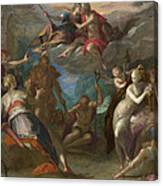 The Amazement Of The Gods Canvas Print