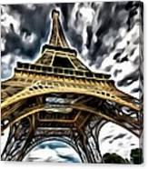 The Amazing Eiffel Canvas Print