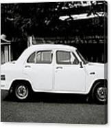 The Ambassador Car Canvas Print