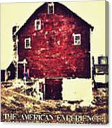 The American Experience Canvas Print