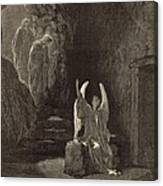 The Angel At The Sepulchre Canvas Print