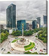 The Angel Of Independence, Mexico City Canvas Print