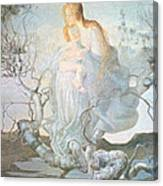 The Angel Of Life Canvas Print