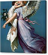 The Angel Of Peace Canvas Print