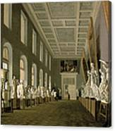 The Antiquities Gallery Of The Academy Of Fine Arts, 1836 Oil On Canvas Canvas Print
