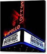 The Apollo Theater Canvas Print