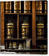 The Apothecary Canvas Print