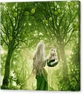 The Apple Fairy Canvas Print