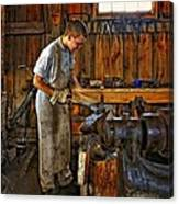 The Apprentice Hdr Canvas Print