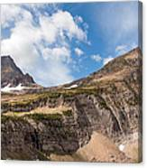 The Approach To Mount Reynolds Canvas Print