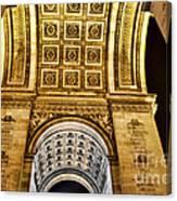 The Arc De Triomphe Canvas Print