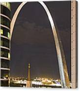 The Arch And Cathedral Canvas Print