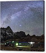 The Arch Of The Milky Way Galaxy Canvas Print