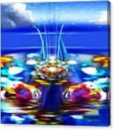 The Arkadian Fountain Canvas Print