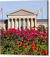 The Art Museum In Summer Canvas Print