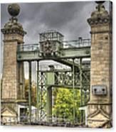 The Art Nouveau Ships Elevator - Portal View Canvas Print