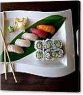 The Art Of Japanese Food Canvas Print