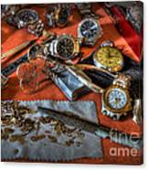 The Art Of The Timepiece - Watchmaker  Canvas Print