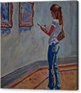 The Art Student Canvas Print