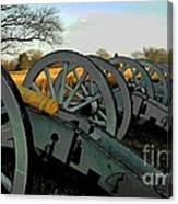 The Artillery Canvas Print