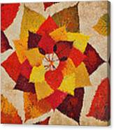 The Artistry Of Fall Klimt Homage Canvas Print
