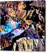 The Artists Palette Death Valley Canvas Print