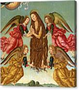 The Ascension Of Saint Mary Magdalene Canvas Print