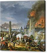 The Attack And Taking Of Ratisbon, 23rd April 1809, 1810 Oil On Canvas Canvas Print