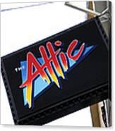 The Attic Myrtle Beach Sc Canvas Print