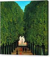 The Avenue In The Park At Saint Cloud    Canvas Print
