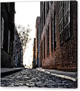 The Back Alley Canvas Print