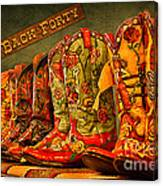 The Back Forty Boots Are Made For Dancin' Canvas Print