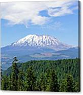 The Back Side Of Helens Canvas Print