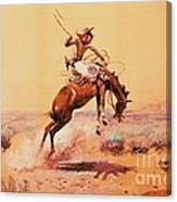The Bad One - Southwestern Canvas Print