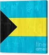 The Bahamas Flag Canvas Print
