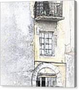 The Balcony Scene II Canvas Print