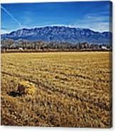 The Bale - Sandia Mountains - Albuquerque Canvas Print