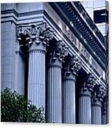 The Bank Of California Canvas Print