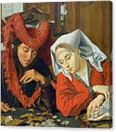 The Banker And His Wife Canvas Print