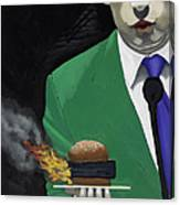 The Banlieu Burger Canvas Print