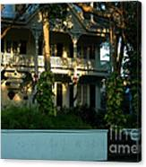 The Banyan House Resort In Key West Canvas Print
