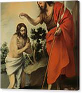 The Baptism Of Christ Canvas Print