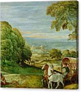 The Baptism Of The Ethiopian Eunuch Canvas Print